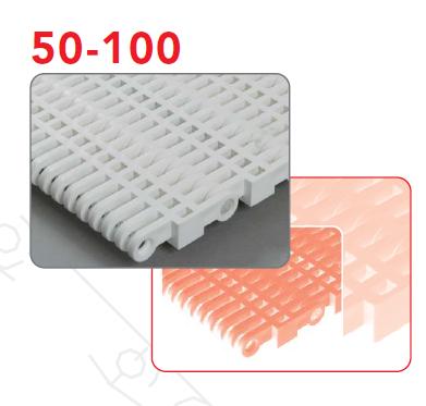 пищевые модульные ленты 50-100