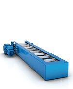 Скребковые конвейеры Tsubaki Kabelschlepp - прямая конструкция